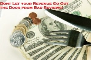 Don't let bad reviews deter customers from eating at your restaurant; fix bad restaurant reviews.