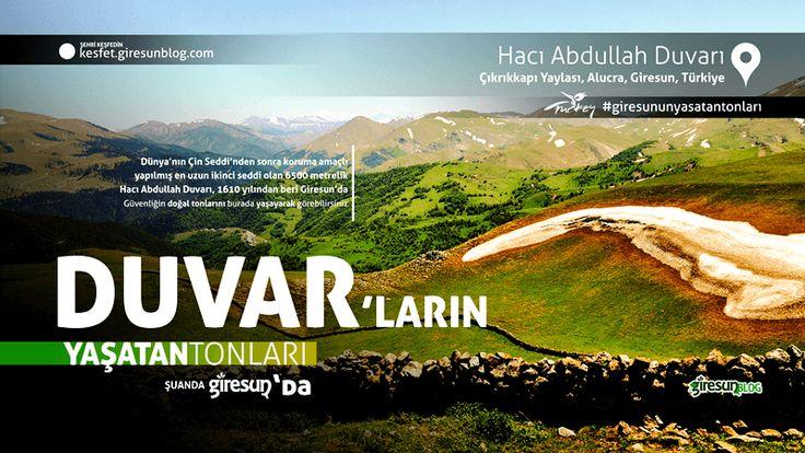 Hacı Abdullah Duvarı http://kesfet.giresunblog.com/haci-abdullah-duvari/