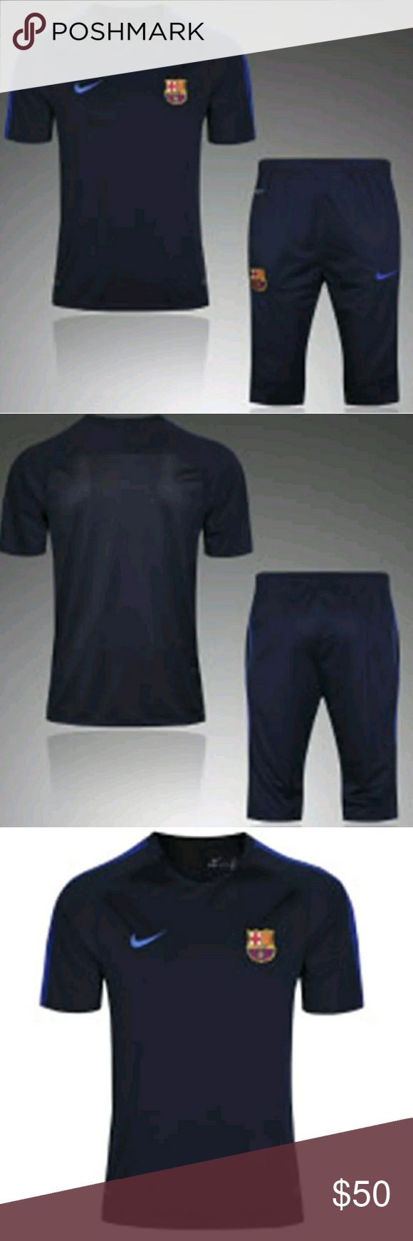 BARCELONA TRAINING SET ROYAL BLUE This a brand new barcelona Training set royal blue 2pcs color  royal blue   Prices are firm, you only get discount by adding 2 items to your bundle. Nike Other