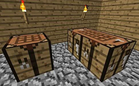 One of the most important items in #Minecraft is the crafting table, otherwise known as a workbench. When you first start, you'll have a small 2×2 crafting grid for constructing simple items. To produce anything more complex, like most tools, weapons, and armor, you'll need a workbench.  This tutorial will teach you how: http://www.minecraftblog.com/how-to-craft-a-workbench-crafting-table-in-minecraft/