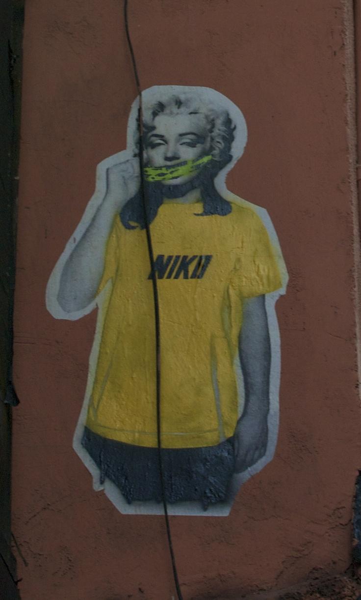 Modern Marilyn Monroe in Madrid :)