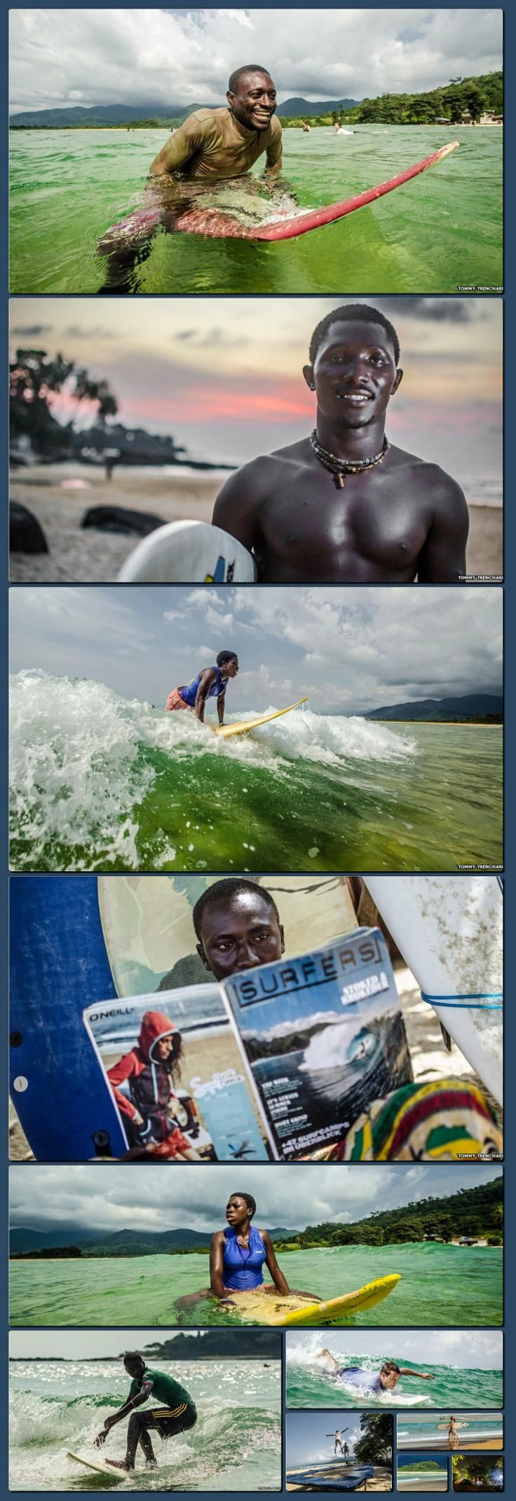 BBC News - In pictures: Sierra Leone's surf club [Collage made with one click using http://pagecollage.com] #pagecollage   http://hoog.li/g?g=http://www.bbc.co.uk/news/in-pictures-25635626
