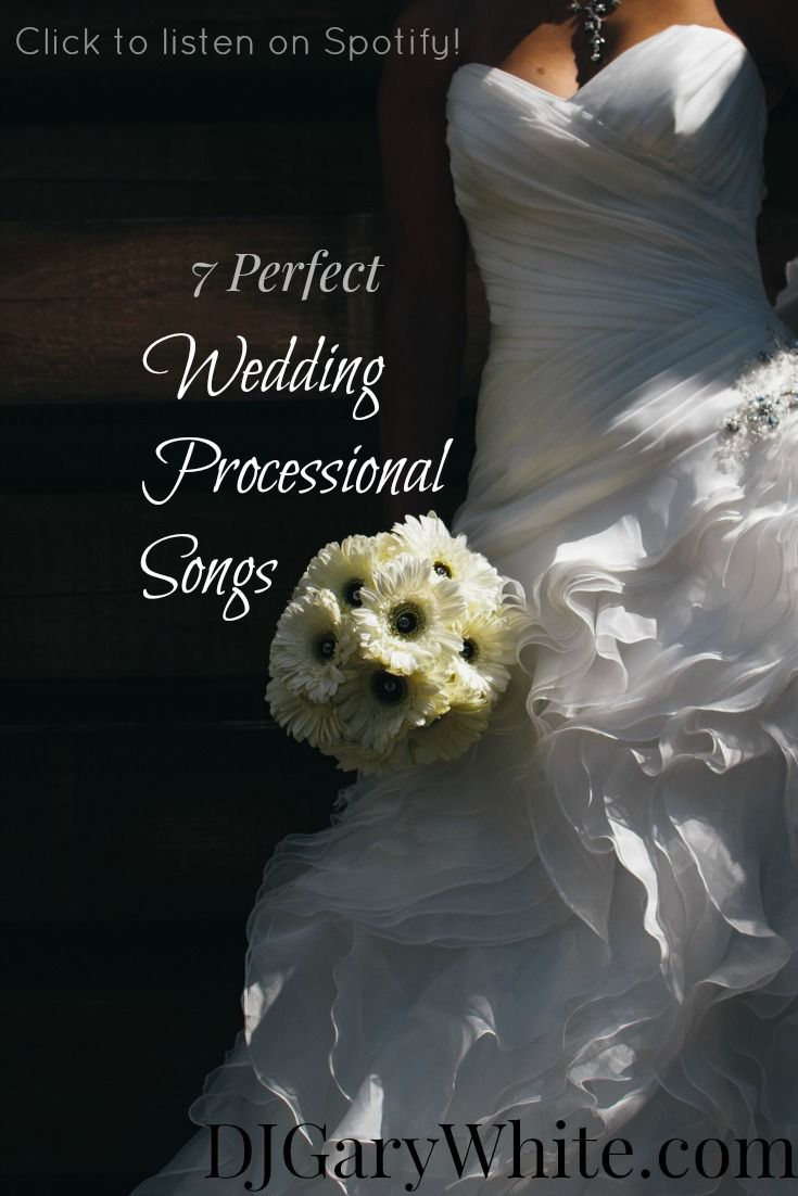 Choosing The Perfect Song To Play As You Walk Down Aisle Is No Easy Task