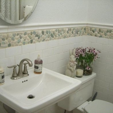 133 best Wall Tile Ideas - Pebble and Stone images on Pinterest ...