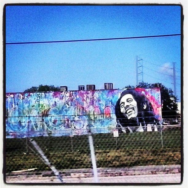 Marley street art