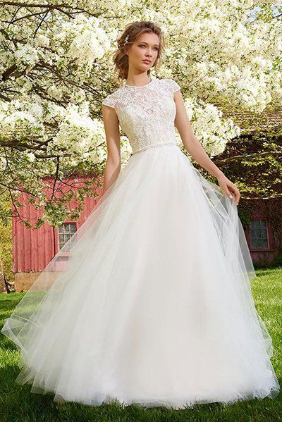 Wedding gown by Tara Keely (Style 2552).