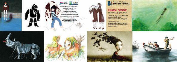 QUASI STORIE Museo Civico LUigi Varoli Cotignola / 2-22 giugno 2014
