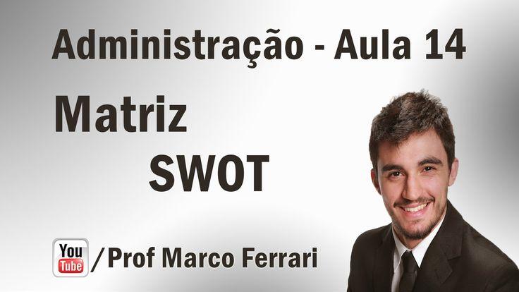 Administração - Aula 14 (Planejamento Estratégico - Matriz SWOT)