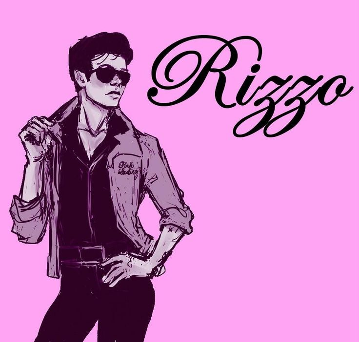 Rizzo from Grease! #PinkLadies