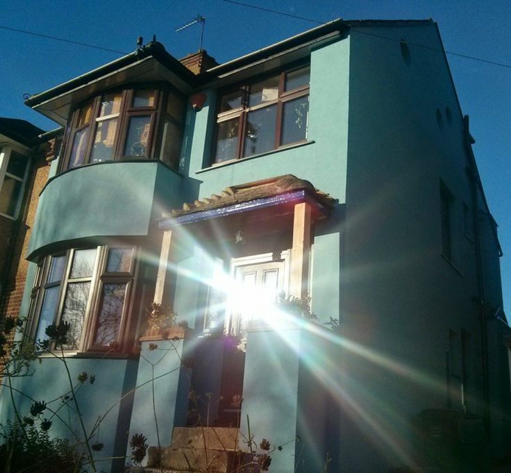 MakeMyHomeGreen in Catford, External solid wall insulation