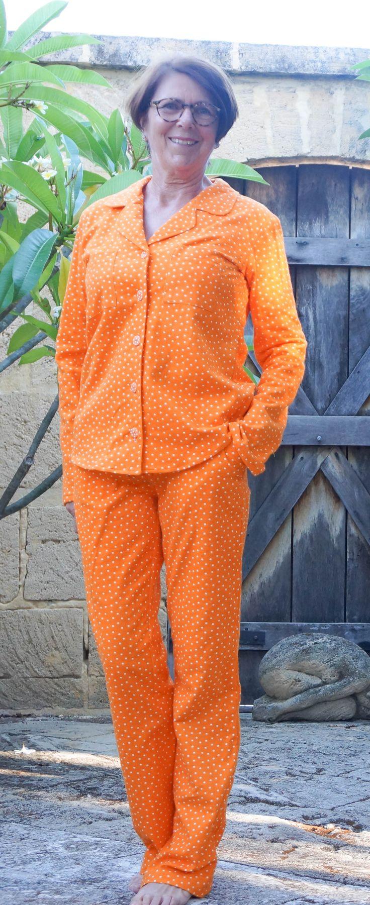 Carolyn Pajama Pattern by Fadanista