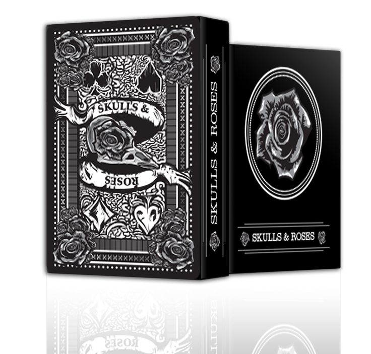 Skulls & Roses playing cards