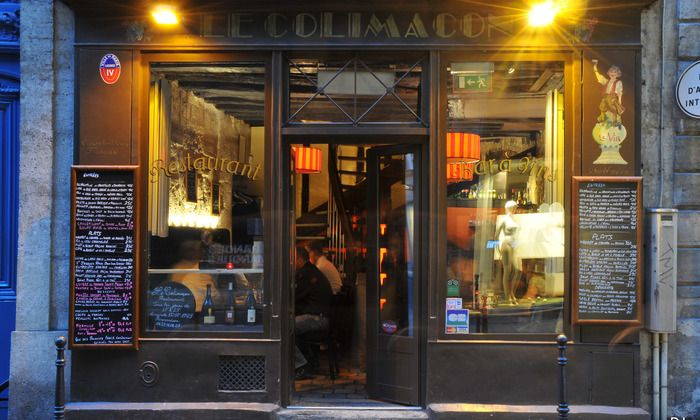 Le Colimaçon Paris | Cuisine française produits frais et fait maison.