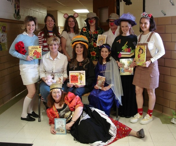 Teachers as there favorite book characters creative for Storybook nanny