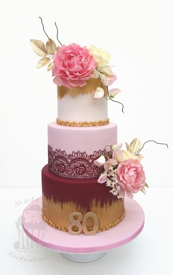 Birthday cake by Monika