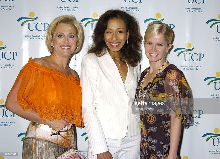 Tonja Walker,Tamara Tunie and Crystal Hunt during United Cerebral Palsy Fourth Annual 'Women Who Care' Luncheon at Ciprianis 42nd Street in New York City, New York, United States.