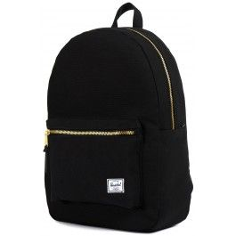 Unisex Black Settlement Backpack by Hershel