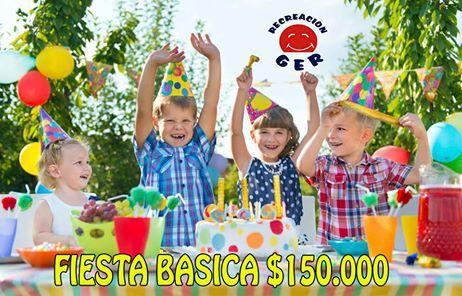GÁNATE UNA FIESTA INFANTIL  Participa por una fiesta de $160.000, En solo tres pasos  1) Comparte esta publicación en tu muro 2) Escoge un número del 001 a 999 3) Registra tus datos en este link http://www.gereventos.com/ y el número que escogiste. La persona que haya escogido el número ganador con la lotería de Bogotá el cual jugara el día 10 de marzo se llevara una gran fiesta infantil, con recreación dirigida, recreación musical, taller de globoflexia, pintucaritas, personaje gigante…