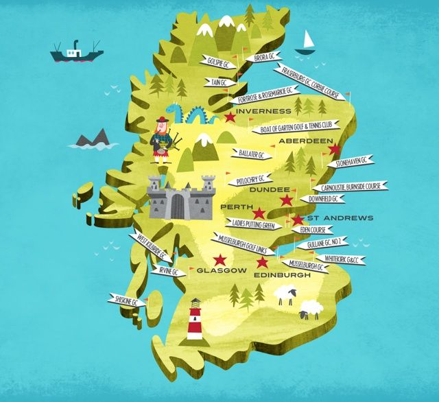 Image result for scotland printable map for kids (With ...