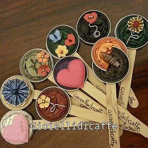 Segnalibri colorati #gioiellidicaffe #gioielli #capsule #nespresso #caffe #coffee #nespressocafe #cialdedelcaffe #cialde #kapseln #colors #colori #segnalibro #segnaposto #libro #leggere #riciclocreativo #riciclare #recycling #handmade #inartemamme