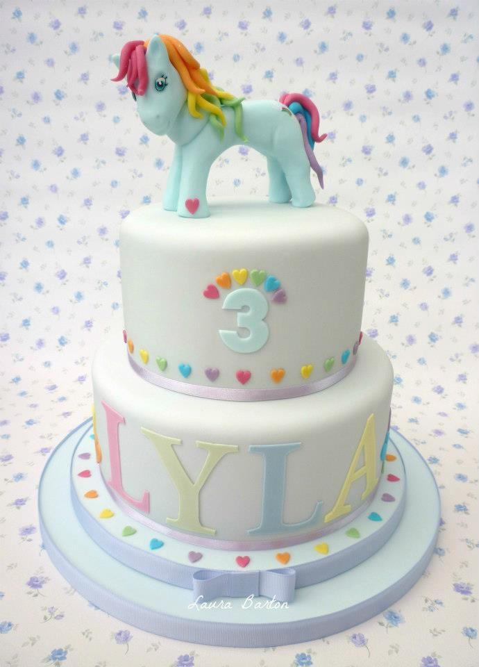 gâteau de fête My Little Pony Birthday Cake