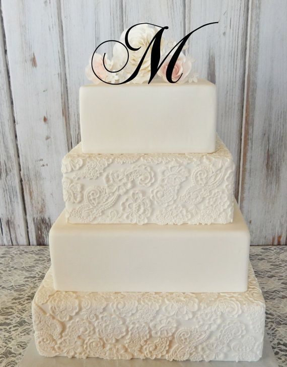 wedding cake monogram as 25 melhores ideias de monogram wedding cakes no 23274