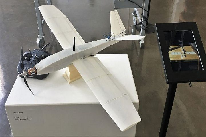 US Marine Designs 3D Printed Surveillance Drone at Fraction of Regular Cost