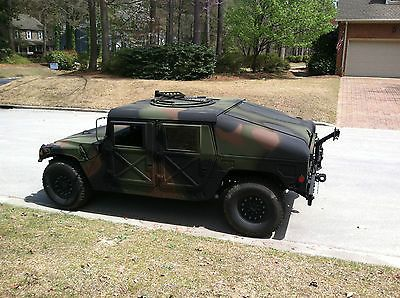 Military Vehicles For Sale » Blog Archive » 1987 M1026 with winch Hummer humvee m998 military AM General For Sale : $10000.00