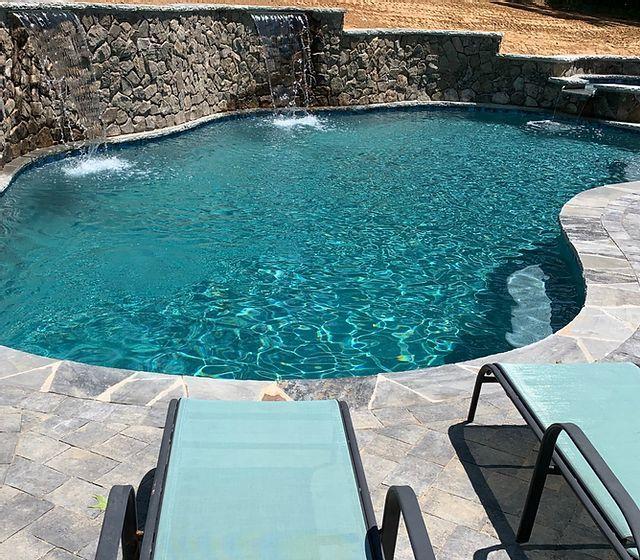 True North Pools Nccharlotte Mooresville Custom Pools Spas Patios Custom Pools Spa Pool Pool