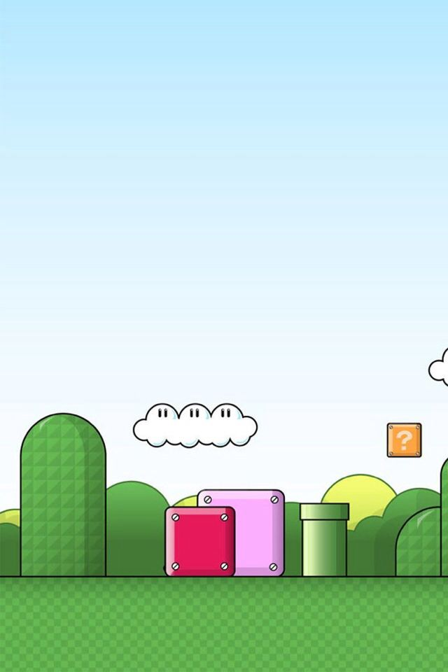 #wallpaper for iphone- Mario!