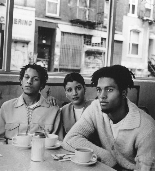 """Digable Planets (Ishmael """"Butterfly"""" Butler, Mary Ann """"Ladybug Mecca"""" Vieira, Craig """"Doodlebug"""" Irving)"""