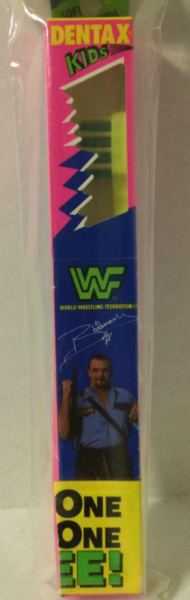 (GBS04639) - WWF WWE WCW nWo Wrestling Dentax Kids Toothbrush - Big Boss Man