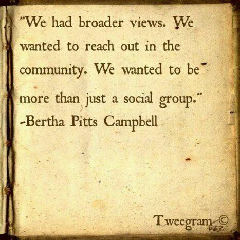 Soror Founder, Bertha Pitts Campbell. tumblr_lxr515Tuja1qae8h2o1_500.jpg 467×467 pixels
