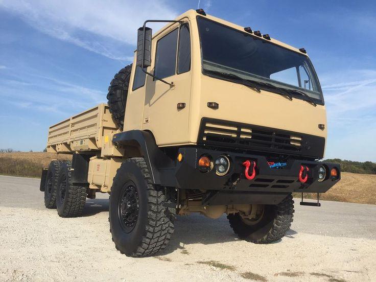 M1083 Winch 5 Ton Military Cargo Stewart Amp Stevenson Mtv