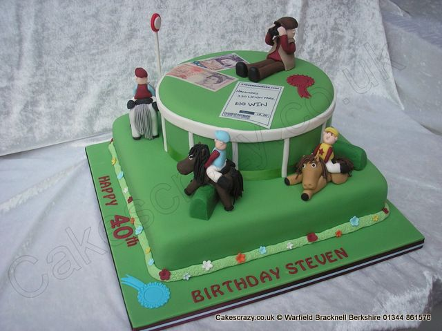 Cake Decorations Horse Racing : 10 best images about Horse racing cake on Pinterest ...