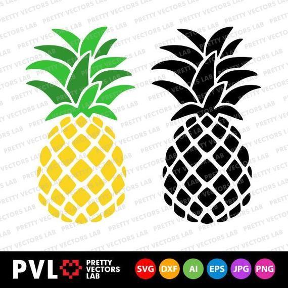 Pineapple Svg Pineapples Clipart Summer Svg Pineapple Etsy In 2020 Monogram Svg Clip Art Pineapple Clipart