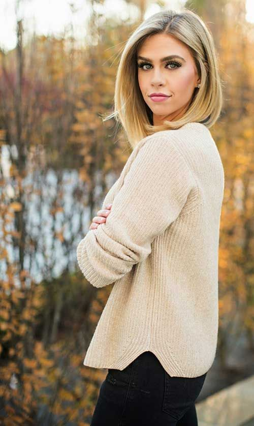 Superb 1000 Ideas About Long Bob Hairstyles On Pinterest Longer Bob Hairstyle Inspiration Daily Dogsangcom