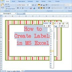 Making Labels with Microsoft Excel (how I make practically all my labels!)