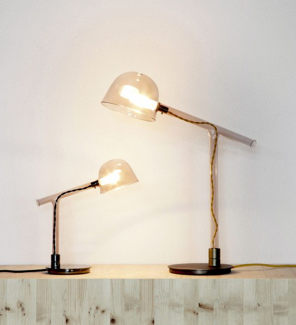 Lamps Inspired By Instruments From A Chemistry Lab