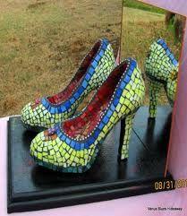 mosaic shoes - Google Search