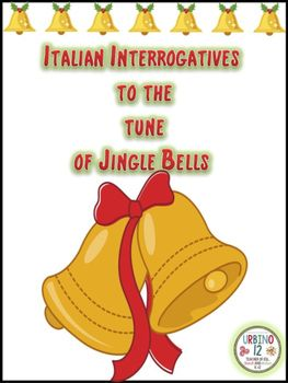 Have your students remember the questions words in Italian while singing this holiday season! Lyrics created to be sung to the tune of Jingle Bells  in Italian and English.Interrogatives included in the lyrics are: perch, quando, che, dove, quanto, dove, come  e chi.Listed at the bottom of the song sheet, but not included in the lyrics are: cosa, che cosa and qualeCredit to: 1) Jen Bradshaw of Teacher Karma for the Little Christmas Border…