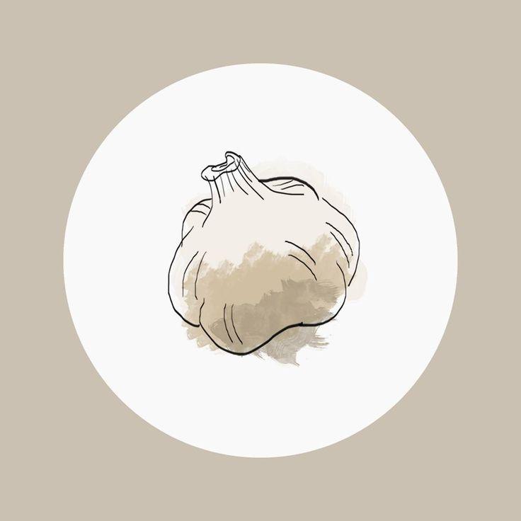 Elle est pas mignonne ma petite gousse d'ail ? 😊 . . . #sketchbook #sketching #draft #aquarelle #colors #watercolor #sketch #croquis #draft #drawings #dessin #drawing #graphisme #graphicdesign #graphics #graphic #mywork #acuarela #akwarela #fooddesign #graphicfood #foodart #ail #goussedail #ajo #garlic