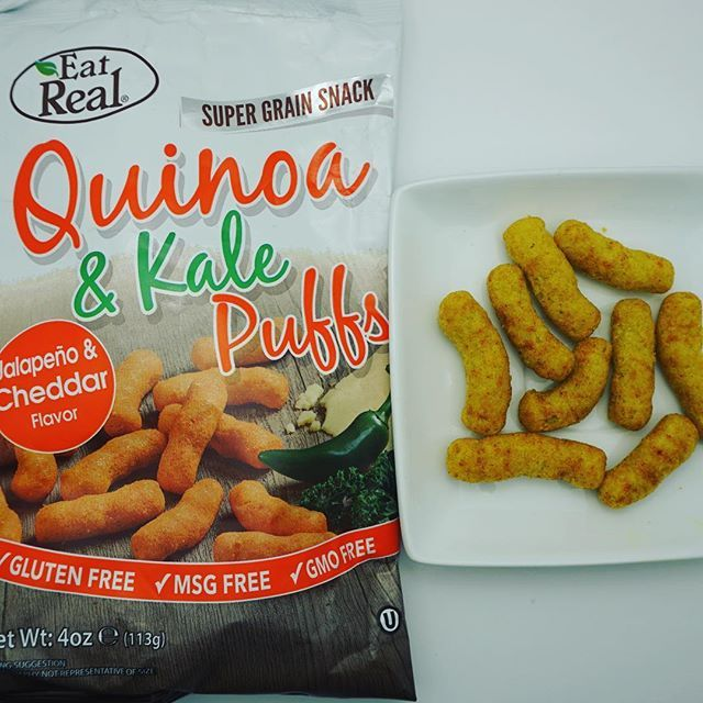 For my next post I decided to go with a new and exciting discovery! Eat Real quinoa and kale puffs. Oh my goodness are these amazing. They have multiple flavours but the jalapeño cheddar is to die for. It definitely has some heat! These are crunchy with just the right amount of salt. Careful because it would be easy to eat the whole bag! Follow my account as I post all of my gluten free snack discoveries