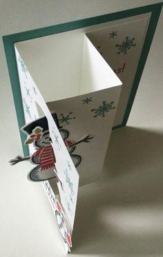 2015  Snowman Swing Card