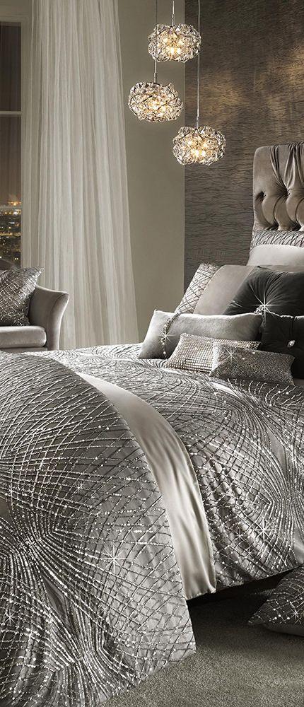 Esta Duvet Cover   Modern Glam Decorating
