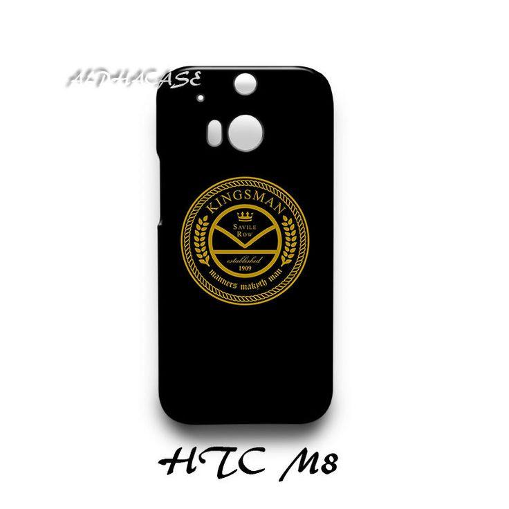 Kingsman The Tailors Logo HTC M8 Hardshell Case