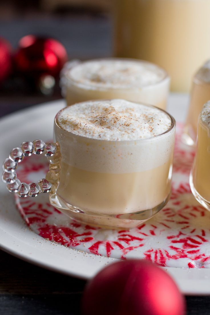 Skip the store-bought stuff and instead made your own Homemade Eggnog! I've included instructions for spiking it and for leaving it virgin.