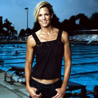 Triathlete Magazine sits down with Olympian Dara Torres. Great interview! Her race takes less than 25 seconds to complete, but for Olympian Dara Torres a typical training day is at least six hours. The 50-meter freestyle swimming star balances that hectic schedule with being a mom and the recovery regimens that come with being a 44-year-old elite athlete. UCAN IMPRESS