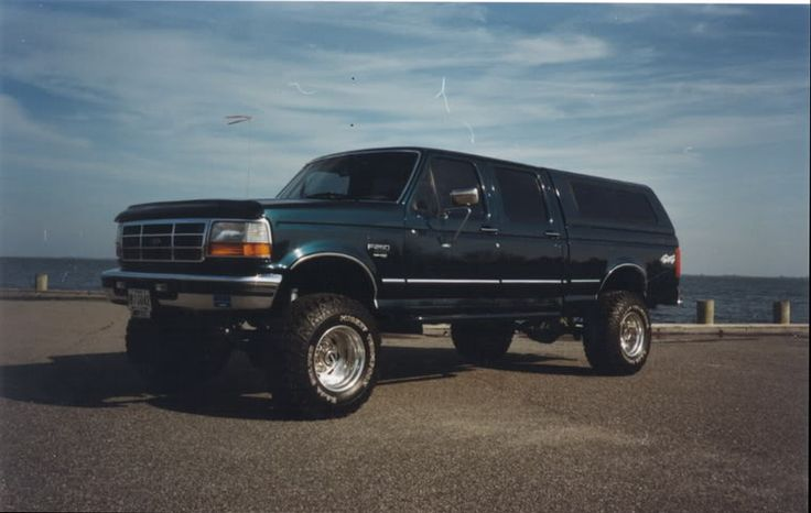 Obs crew cab pics page 39 ford powerstroke diesel - Bac a semis ...