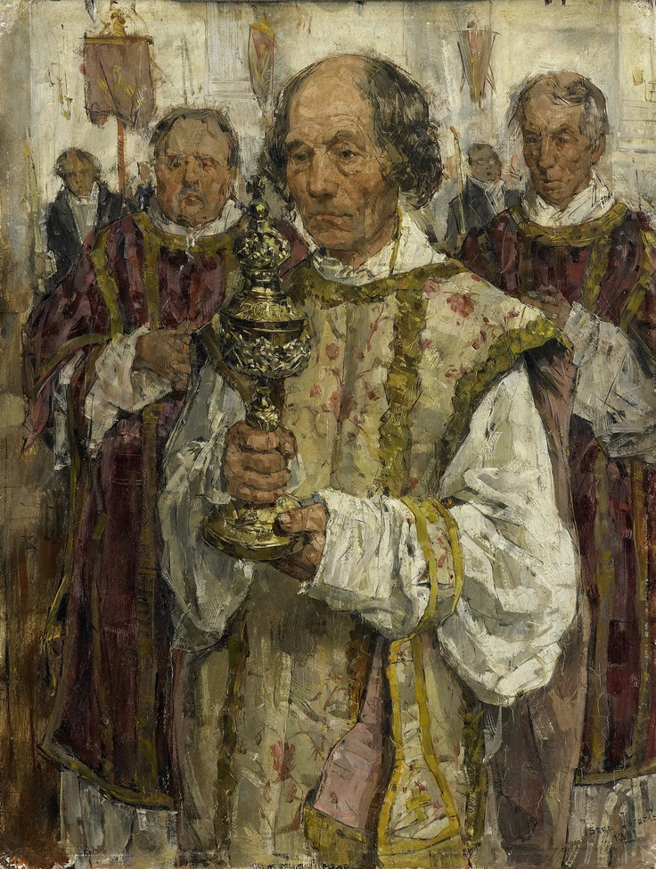 Isaac Israels - Procession in the Old Catholic Church to the Hague; Rijksmuseum Amsterdam, Netherlands; 1881